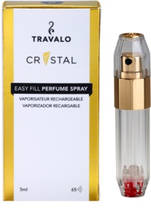 Travalo Crystal Gold Refillable Atomiser unisex 5 ml