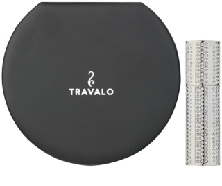Travalo Divine refillable atomiser with swarovski crystals unisex Silver 5 ml