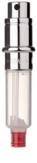 Travalo Engine nachfüllbarer Flakon mit Zerstäuber unisex 5 ml ohne Umverpackung Ersatzfüllung silver
