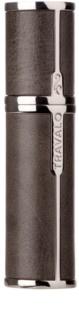 Travalo Milano Case U-change embalagem em  metal para perfume recarregável em spray unissexo    Grey