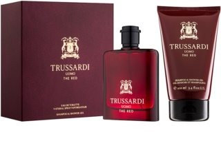 Trussardi Uomo The Red lote de regalo I.
