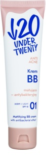Under Twenty ANTI! ACNE mattierende BB Creme SPF 10