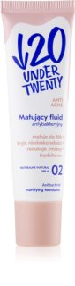 Under Twenty ANTI! ACNE mattierendes Make-up SPF 10