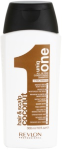 Uniq One All In One Coconut Hair Treatment sampon fortifiant pentru toate tipurile de par