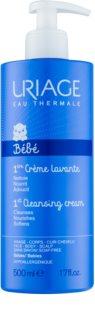 Uriage 1érs Soins Bébés почистващ крем  за лице, тяло и коса