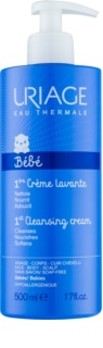 Uriage 1érs Soins Bébés Cleansing Cream for Face, Body and Hair