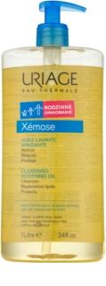 Uriage Xémose заспокоююча очищуюча олійка для обличчя та тіла