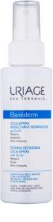 Uriage Bariéderm Cica изсушаващ репариращ спрей, съдържащ мед и цинк