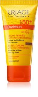 Uriage Bariésun crema facial protectora con color  SPF 50+