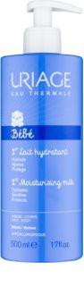 Uriage 1érs Soins Bébés Feuchtigkeit spendende Gesichts und Körpermilch für Kinder ab der Geburt