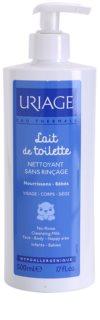 Uriage 1érs Soins Bébés почистващо мляко за тяло и лице