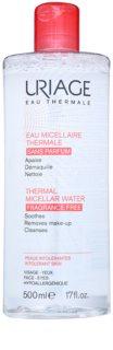 Uriage Eau Micellaire Thermale água micelar de limpeza para peles sensíveis com tendência a irritação sem perfume
