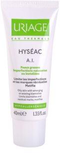 Uriage Hyséac A.I. крем за намаляване на възпалителните симптоми на акне