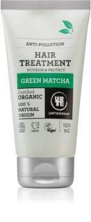 Urtekram Green Matcha hydratační maska pro vlasy vystavené znečištěnému ovzduší