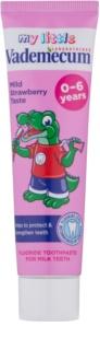 Vademecum Junior дитяча зубна паста з ароматом полуниці