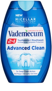 Vademecum Advanced Clean Pro Micellar Technology 2in1 Toothpaste and Mouthwash For Complete Protection Of Teeth