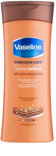 Vaseline Cocoa Radiant Feuchtigkeits-Body lotion mit Kakaobutter