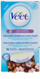 Veet Wax Strips Depilatory Wax Strips Bikini Line And Underarm
