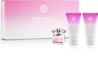 Versace Bright Crystal zestaw upominkowy tester dla kobiet 3 szt.