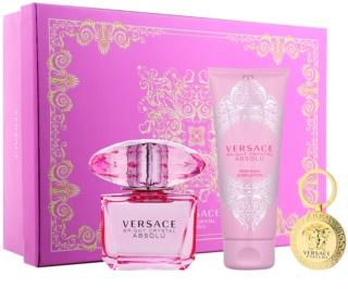 Versace Bright Crystal Absolu coffret XII.