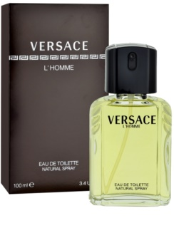 Versace L'Homme Eau de Toilette for Men 100 ml