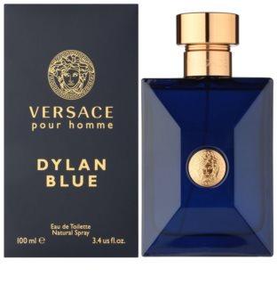 Versace Dylan Blue Eau de Toilette pentru barbati 100 ml