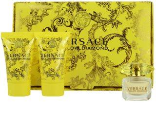 Versace Yellow Diamond coffret V. para mulheres