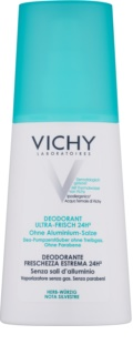 Vichy Deodorant Refreshing Deodorant Spray For Sensitive Skin