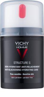 Vichy Homme Structure S crema idratante per pelli flaccide