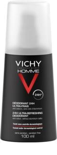Vichy Homme Deodorant Deodorant Spray  tegen Overmatig Transpireren