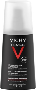 Vichy Homme Deodorant Deodorant Spray To Treat Excessive Sweating