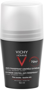 Vichy Homme Deodorant antiperspirant roll-on proti nadmernému poteniu