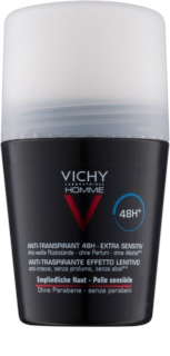 Vichy Homme Deodorant antiperspirant roll-on fara parfum