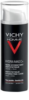 Vichy Homme Hydra-Mag C nawilżający krem-żel przeciw oznakom zmęczenia pod oczy