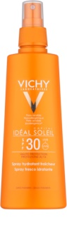Vichy Idéal Soleil Capital spray protetor com efeito hidratante SPF30