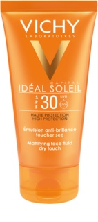 Vichy Capital Soleil Skyddande matt vätska för ansiktet SPF 30