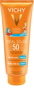 Vichy Idéal Soleil Capital Lapte de protecție pentru copii pentru fata si corp SPF 50