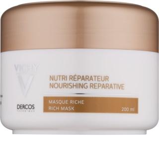 Vichy Dercos Nutri Reparateur máscara nutritiva para cabelo seco a danificado