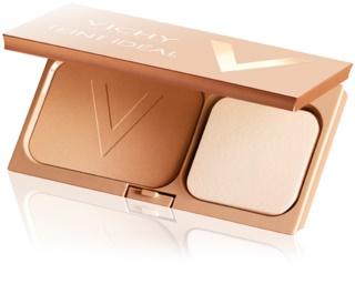 Vichy Teint Idéal rozświetlający puder kompaktowy nadający skórze idealny odcień