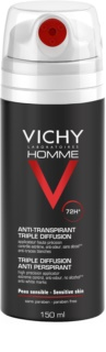 Vichy Homme Deodorant Antiperspirant Spray 72 tim