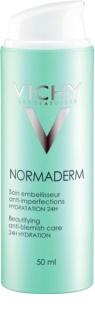 Vichy Normaderm fluido hidratante para adultos propensos a ter imperfeições de pele 24 h