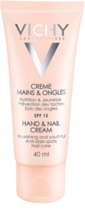 Vichy Hand & Nail creme nutritivo para as mãos e unhas anti-manchas escuras