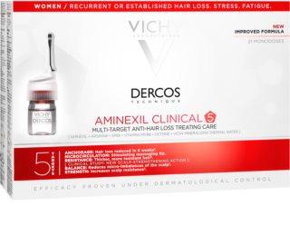 Vichy Dercos Aminexil Clinical 5 tratamiento anticaída localizado para mujer