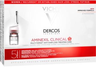 Vichy Dercos Aminexil Clinical 5 cielená starostlivosť proti vypadávaniu vlasov pre ženy