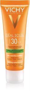 Vichy Idéal Soleil Capital Protetor solar com efeito mate para o rosto. para pele oleosa e mista