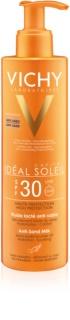 Vichy Idéal Soleil Capital loțiune solară cu tehnologia anti-nisip SPF30