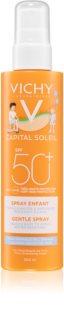 Vichy Idéal Soleil spray solar para crianças SPF 50+