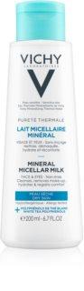 Vichy Pureté Thermale ásványi micelláris tej száraz bőrre