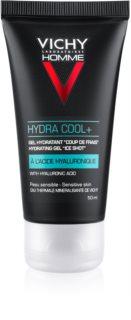 Vichy Homme Hydra Cool+ gel hidratante para rostro con efecto frío