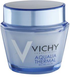 Vichy Aqualia Thermal Rich tápláló hidratáló nappali krém száraz és nagyon száraz bőrre